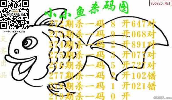 279期小小鱼3d杀码图谜-天齐原创