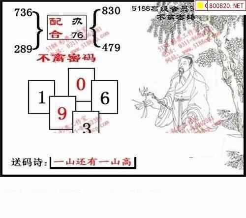 013期5188福彩3D图谜